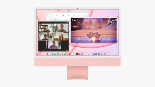 Apple's striking new M1-powered iMac comes in seven different colours