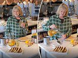Martha Stewart shares video of herself making 'an old fashioned remedy' for sore throats