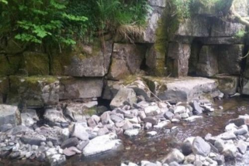 Five Welsh caves hidden in the woods near a waterfall up for sale for £150,000