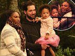 Serena Williams and Alexis Ohanian take daughterAlexis Olympia to Auckland Zoo