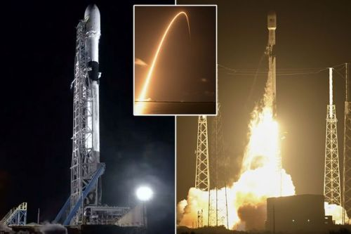 SpaceX launches Starlink satellites so Elon Musk can beam internet anywhere on Earth