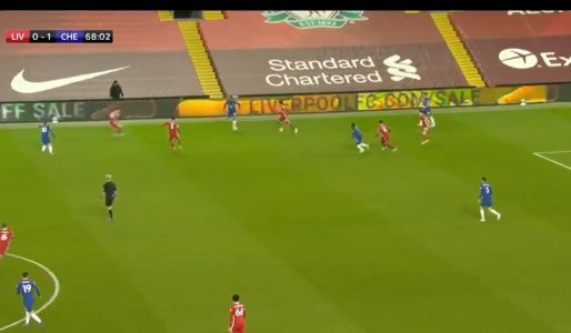 : Chelsea's slick attacking play in the first half against Liverpool