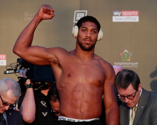 Anthony Joshua Can Reverse The Sportswash Effect Of His Saudi Fight