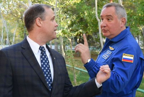 Russia's space chief is hopping mad over most recent US restrictions