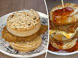 KFC fans go wild as chicken chain share a menu hack to create a CRUMPET burger