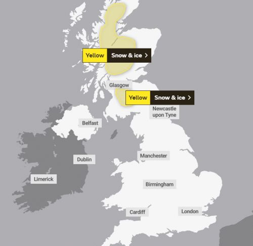 UK weather forecast - Eight inches of snow today as -3C deep freeze sets in after Storm Dennis flooding
