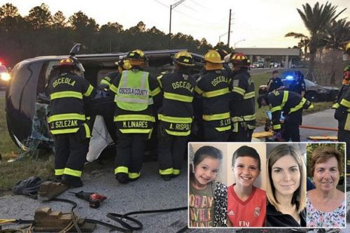 Four members of same family die in car crash near Disney World