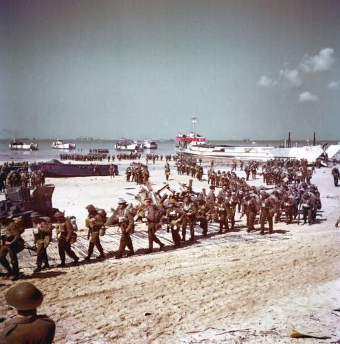 The Normandy beaches then and now: What the site of the D-Day landings looks like 76 years later