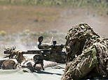 SAS marksman 'kills five Islamic State fighters with a single sniper shot from 3,000ft away'