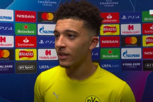 Jadon Sancho indicates intentions as Man Utd transfer target breaks silence