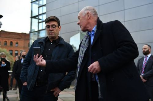 Dramatic Moment Andy Burnham Found Out Manchester Is Being Put In Tier 3 Lockdown