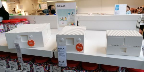 Lego x Ikea Products Spotted on Shelves