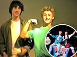 Never-before-seen audition tapes from Bill & Ted's Excellent Adventure reveal a goofy Keanu Reeves