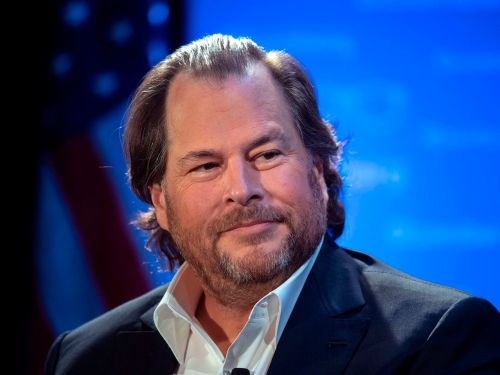 Marc Benioff refused to name his rival Microsoft in an interview about Salesforce's $27.7 billion Slack acquisition: 'What's that company? How do you spell it?'