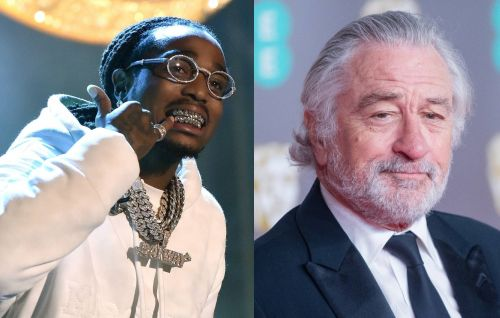 """Quavo on working with Robert De Niro on new film 'Wash Me In The River': """"He's a nice dude"""""""