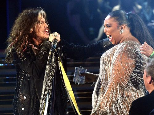 Aerosmith frontman Steven Tyler yelled 'Lizzo I f--ing love you!' in the middle of his Grammys performance, but the moment was bleeped on air