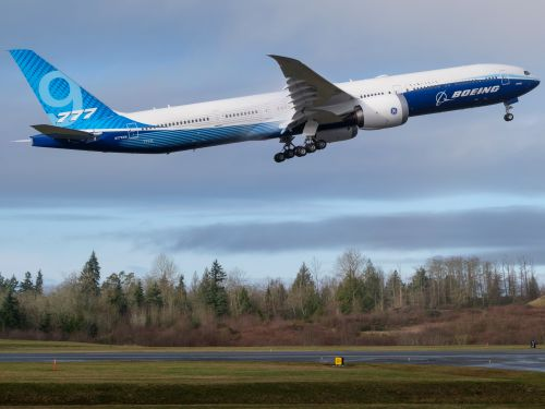The third Boeing 777X just flew for the first time - take a look at the enormous new flagship Boeing hopes will be its redemption
