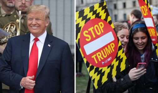 Trump protest: When is Trump coming to UK? Where are the Trump protests happening?
