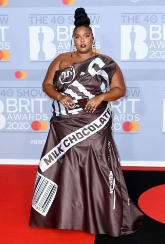 Lizzo Looks Good Enough To Eat On Brit Awards 2020 Red Carpet