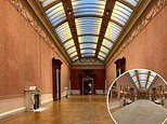 Buckingham Palace's Picture Gallery sits empty for first time in 45 years as renovations continue