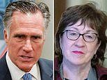 Mitt Romney and Susan Collins say it's LIKELY Republicans will vote to call witnesses for trial