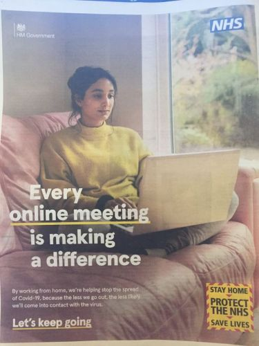 This Government Work From Home Ad Has Been Branded 'Irresponsible'
