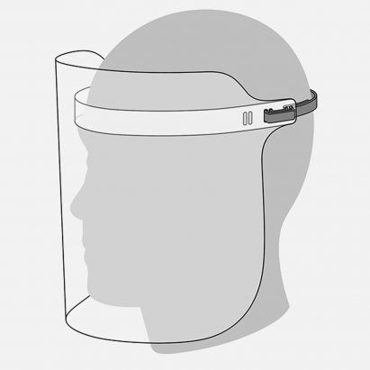 Apple reveals its coronavirus face shield design
