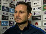 'It's not good enough': Frank Lampard blasts VAR again