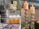 'One of the best hacks ever': Kmart shopper wows with her DIY candle holders