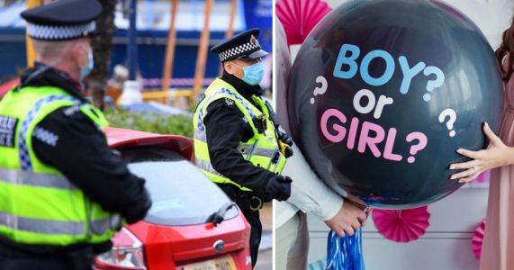 Nine people fined for gender reveal party in lockdown