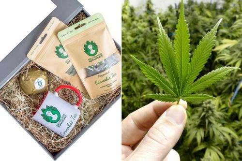 You can now buy a cannabis Christmas hamper for £35