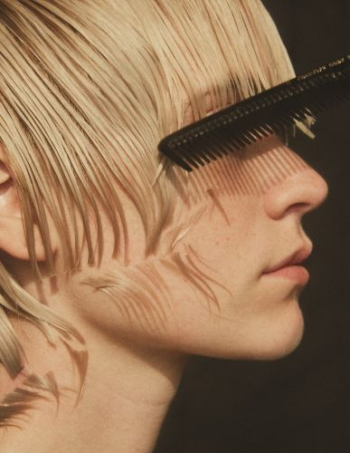 A step-by-step guide to cutting your own fringe in isolation