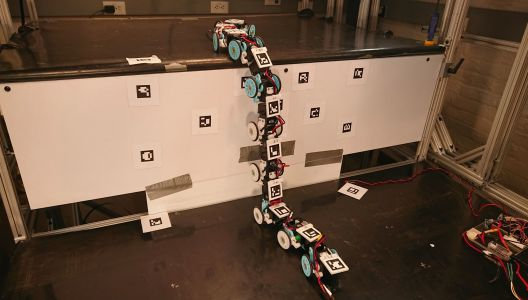 A robot snake could slither its way into search and rescue operations