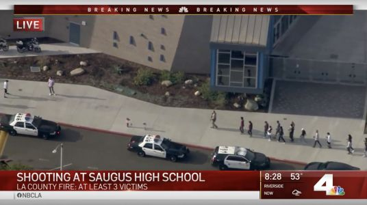 Six people injured in shooting at southern California high school