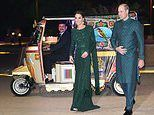 William and Kate Middleton turn up in Tuk Tuk in Islamabad