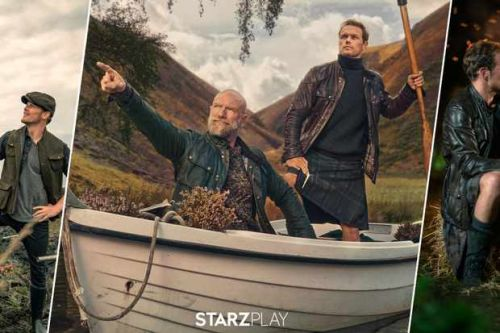 Men in Kilts series starring Outlander's Sam Heughan and Graham McTavish gets UK release date