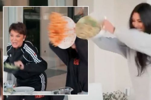 Khloe Kardashian speaks out after being challenged over leftover food from party