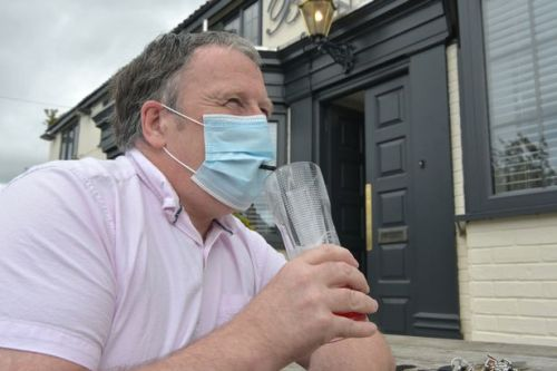 Thirsty punters down first pints in months as pubs open doors on Super Saturday