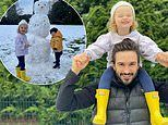 Joe Wicks shares adorable snaps of daughter Indie and son Marley enjoying their first ever snow day