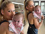 Anna Kournikova shares sweet photo of her and Enrique Iglesias's two-month-old daughter Masha