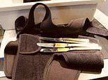 London woman caught trying to snuggle knives in her knee brace at Boston Logan airport