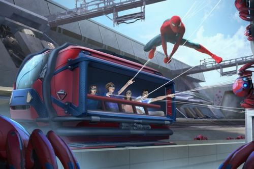 Tom Holland offers first look at new Spider-Man ride coming to Disneyland