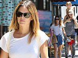 Rachel Bilson and Hayden Christensen have a fun family outing with daughter Briar in LA
