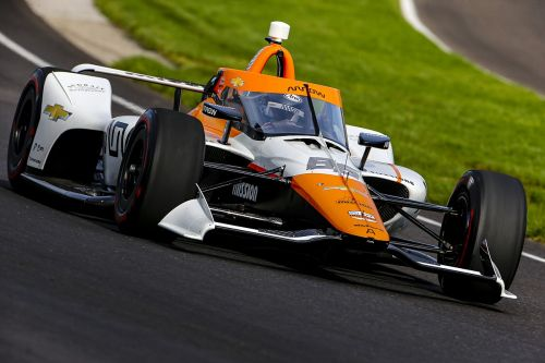 Montoya encouraged by Indy test showing despite scary moments