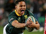 South Africa 35-17 Australia: Herschel Jantjies inspires Springboks to victory in Rugby Championship
