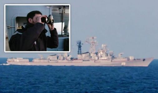 'Man overboard!' Royal Navy in blunder as Russian warship watched on