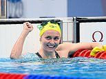 Aussie Olympic star Ariarne Titmus secures spot in 200m freestyle final at Tokyo Olympics