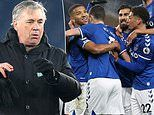 Everton boss Carlo Ancelotti admits it would be a 'DREAM' to make the top four this season