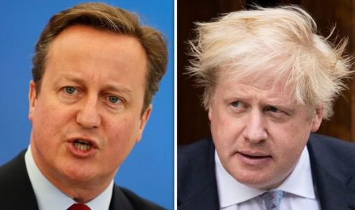 Boris Johnson branded a 'greased piglet' by David Cameron as Tory civil war continues