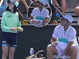 Elliot Benchetrit reveals umpire's scathing remark after he asked a ball-girl to peel his banana